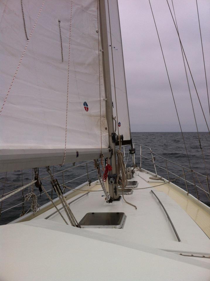 Cerulean during sea trial cruise