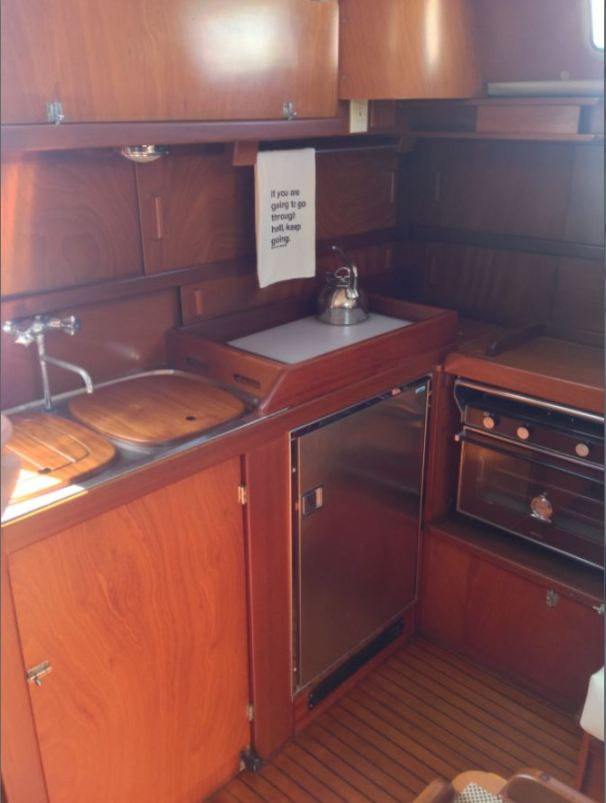 Galley Cabinets - Refinished