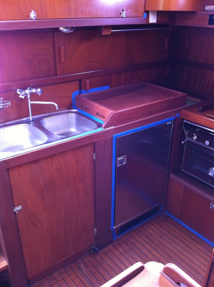 Galley Area - Ready for Sanding