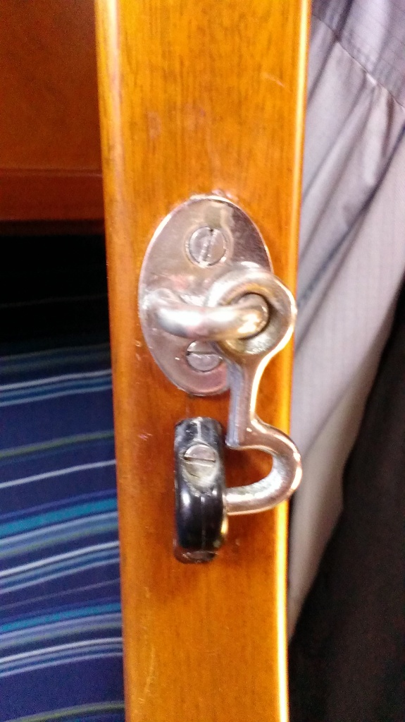 Latch - Installed - After